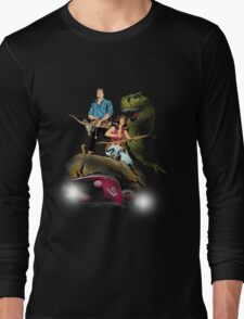 Cadillacs and Dinosaurs - Color Long Sleeve T-Shirt
