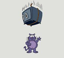 Eek the Cat - Falling Safe - No Font Unisex T-Shirt