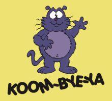 Eek the Cat - Koom-Bye-Ya - Black Font Kids Clothes