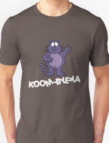 Eek the Cat - Koom-Bye-Ya - White Font T-Shirt