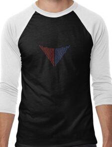 Valiant Logo Models Men's Baseball ¾ T-Shirt
