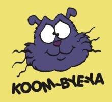 Eek the Cat - Koom-Bye-Ya - Head - Black Font Kids Clothes