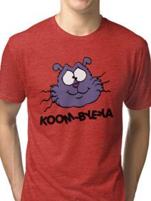 Eek the Cat - Koom-Bye-Ya - Head - Black Font Tri-blend T-Shirt