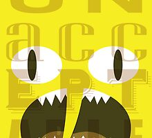 UNACCEPTABLE!!! Lemongrab Typography | adventure time by abowersock