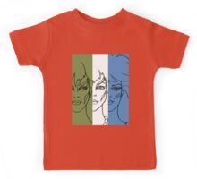Jem and The Holograms - The Misfits Striped - Color Kids Tee