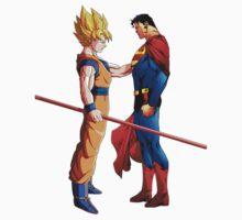 Goku and Superman Kids Clothes