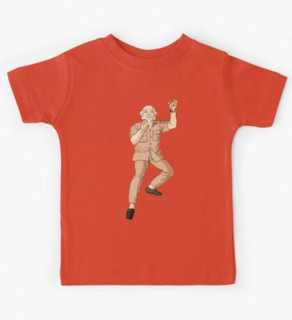 The Karate Kid - Mr. Miagi - Color Kids Tee