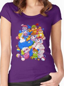 Popples - Group - Color Women's Fitted Scoop T-Shirt