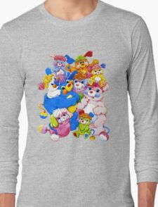 Popples - Group - Color Long Sleeve T-Shirt