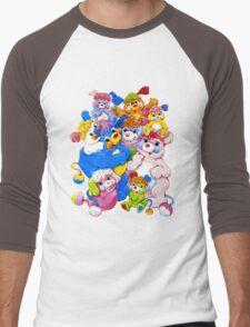 Popples - Group - Color Men's Baseball ¾ T-Shirt