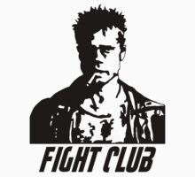 Fight Club Tyler Durden with Logo by Ciaran De Groot