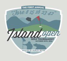 Lost - Hurley's Island Open Golf Tournament T-Shirt