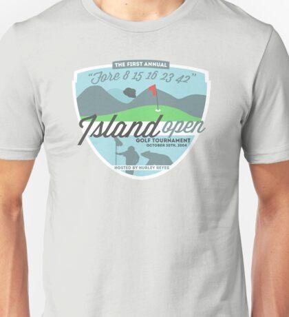 Lost - Hurley's Island Open Golf Tournament Unisex T-Shirt
