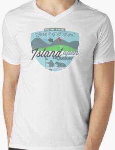 Lost - Hurley's Island Open Golf Tournament Mens V-Neck T-Shirt