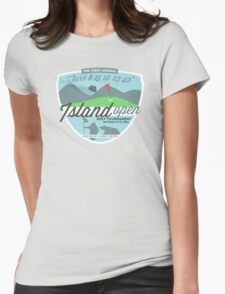 Lost - Hurley's Island Open Golf Tournament Womens Fitted T-Shirt