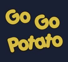 Potato Head Kids - Go Go Potato - Color Kids Tee