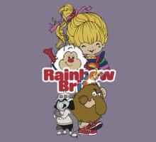 Rainbow Brite - Group Logo #1 - Color  Kids Tee