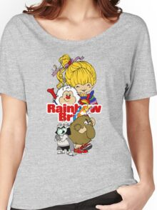 Rainbow Brite - Group Logo #1 - Color  Women's Relaxed Fit T-Shirt