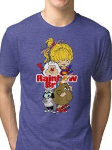 Rainbow Brite - Group Logo #1 - Color  Tri-blend T-Shirt