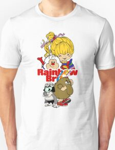 Rainbow Brite - Group Logo #1 - Color  T-Shirt