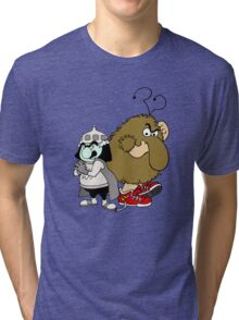 Rainbow Brite - Group - Lurky & Murky - Color Tri-blend T-Shirt