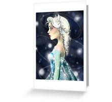 Elsa the Snow Queen Greeting Card
