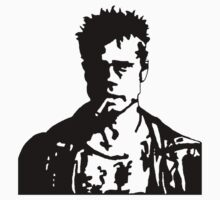 Fight Club Tyler Durden without Logo by Ciaran De Groot