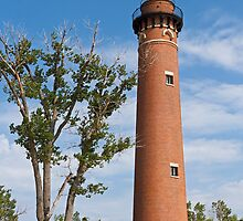 Little Sable Point Light by Kenneth Keifer