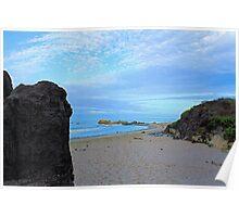 Beach Heaven at Carpinteria Poster