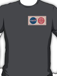 NASA - Critical Space Item Handle with Extreme Care (Front) T-Shirt