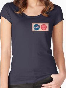 NASA - Critical Space Item Handle with Extreme Care (Front) Women's Fitted Scoop T-Shirt