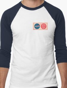 NASA - Critical Space Item Handle with Extreme Care (Front) Men's Baseball ¾ T-Shirt