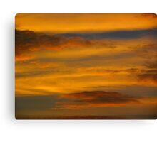 Da Vinci Sunset Canvas Print