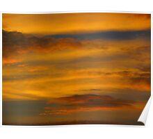 Da Vinci Sunset Poster