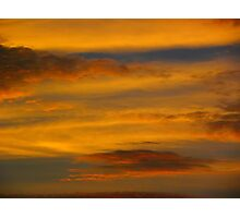 Da Vinci Sunset Photographic Print