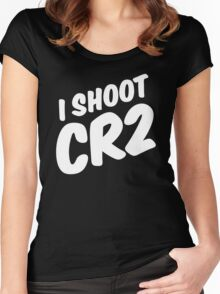 I shoot CR2 Women's Fitted Scoop T-Shirt
