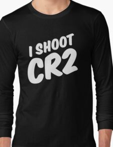 I shoot CR2 Long Sleeve T-Shirt