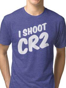 I shoot CR2 Tri-blend T-Shirt