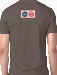 NASA - Critical Space Item Handle with Extreme Care (Back) T-Shirt