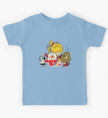 Rainbow Brite - Group Logo #2 - Color Kids Tee
