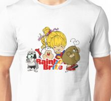 Rainbow Brite - Group Logo #2 - Color Unisex T-Shirt