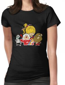 Rainbow Brite - Group Logo #2 - Color Womens Fitted T-Shirt