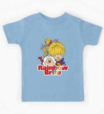 Rainbow Brite - Group - Rainbow & Twink - Large - Color Kids Tee