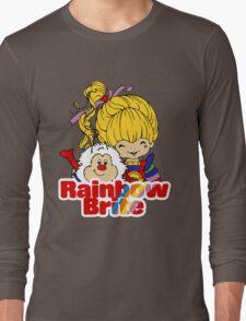 Rainbow Brite - Group - Rainbow & Twink - Large - Color Long Sleeve T-Shirt