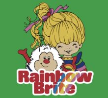 Rainbow Brite - Group - Rainbow & Twink - Small - Color Baby Tee