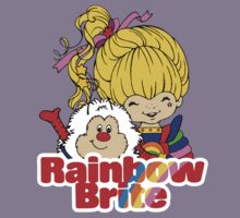 Rainbow Brite - Group - Rainbow & Twink - Small - Color Kids Tee