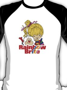 Rainbow Brite - Group - Rainbow & Twink - Small - Color T-Shirt