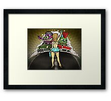 The Drag Race Framed Print