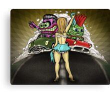 The Drag Race Canvas Print