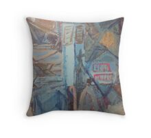 Anglican Abstract Throw Pillow